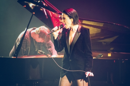 St  Vincent Performs 'Masseducation' With Thomas Bartlett