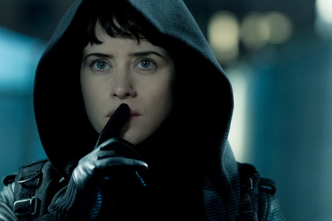 Claire Foy (THE GIRL IN THE SPIDER'S WEB)