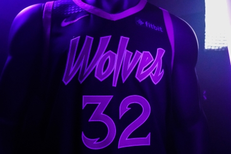 Nba S Minnesota Timberwolves Share New Uniforms Honoring Prince