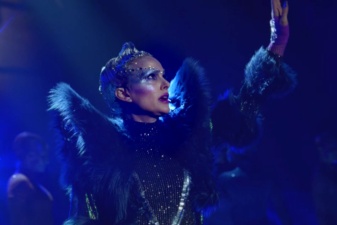 c395e962d2e Watch Natalie Portman Sing New Sia Song in Vivid  Vox Lux  Trailer –  Rolling Stone