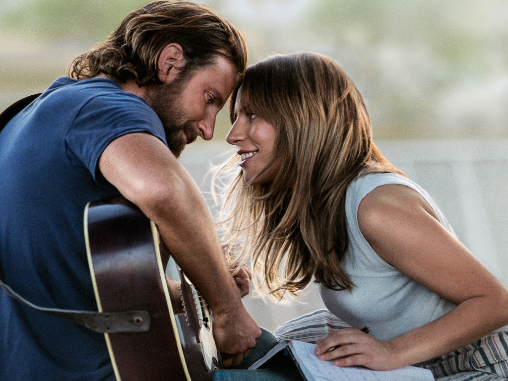 "Lady Gaga and Bradley Cooper, ""Shallow"""
