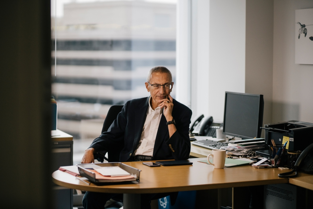 John Podesta, the former Clinton campaign chairman is among the victims still recovering from a vile conspiracy theory that ended in gunfire. He's ready to talk about Pizzagate.