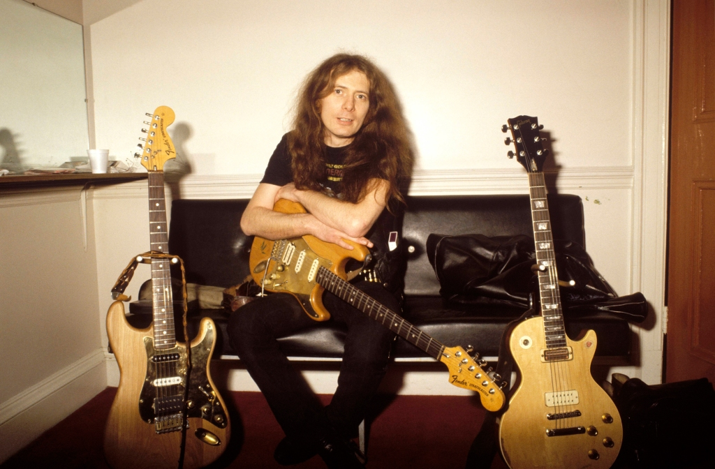 """Fast"" Eddie Clarke, the Motörhead guitarist featured on many of the band's classic albums and a founding member of Fastway, died in January. He was 67."