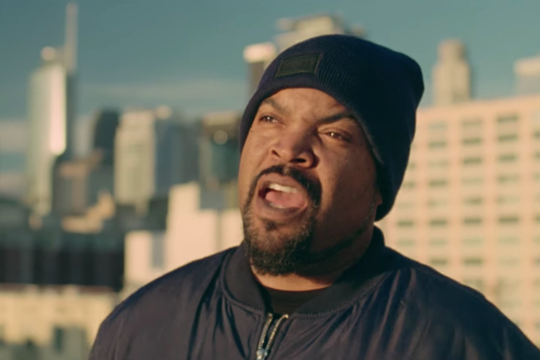 See Ice Cube Recite Two Hard-Hitting New Raps A Cappella