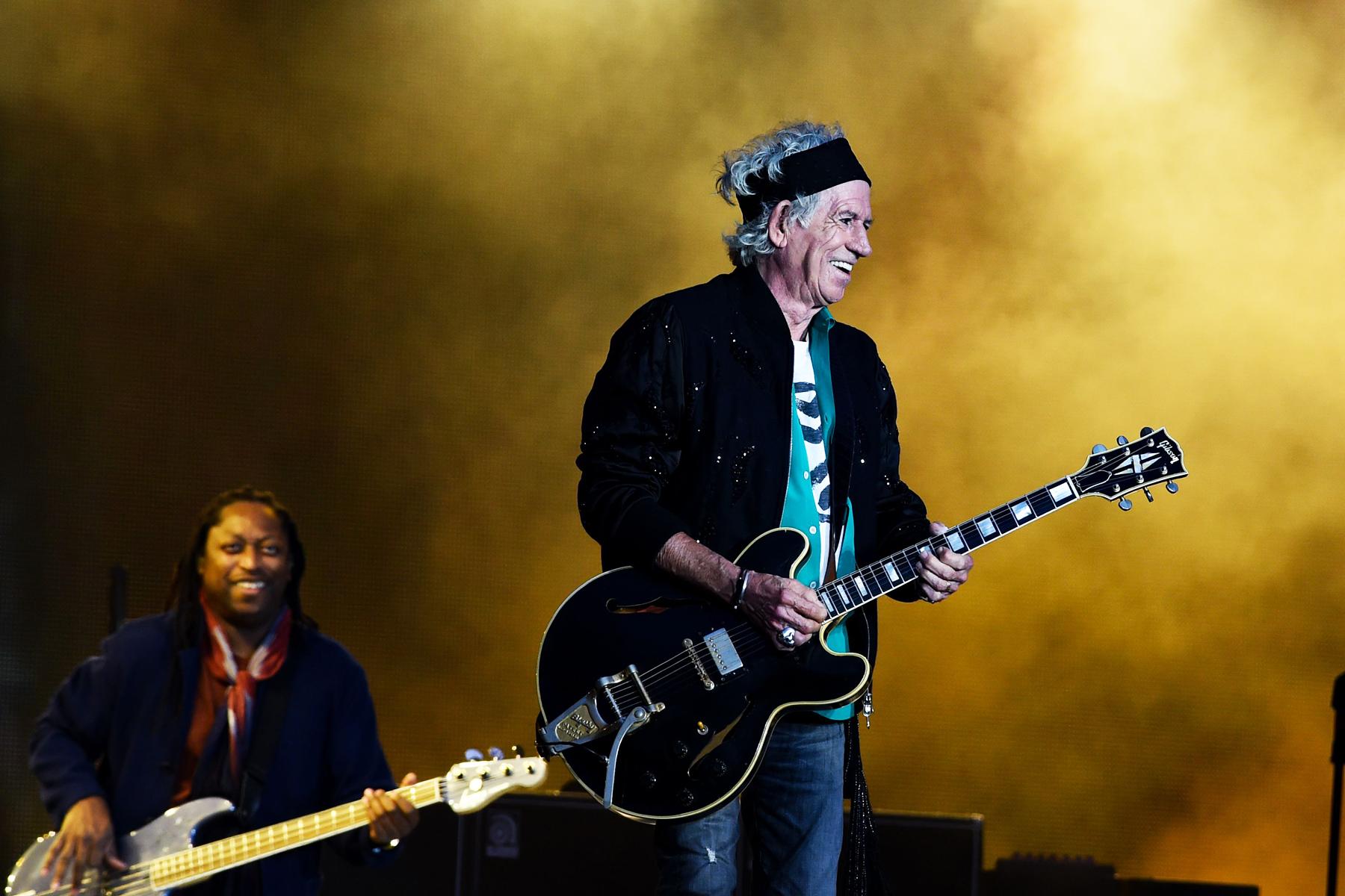 Keith Richards Has Cut Back on Drinking: 'I Got Fed Up ...