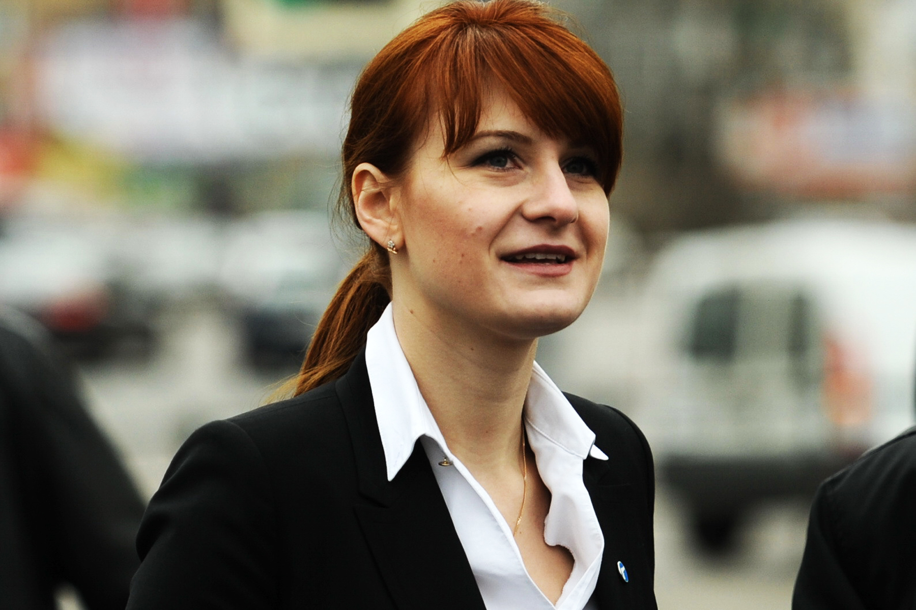 Maria Butina, pictured April 23, 2013 in Moscow.
