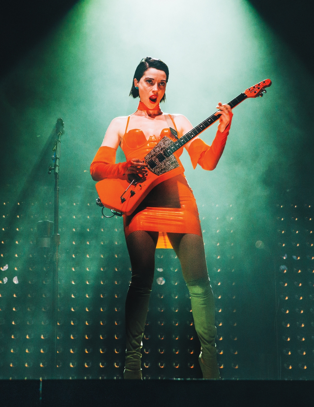 St. Vincent performs at Austin City Limits Music Festival, October 2018.