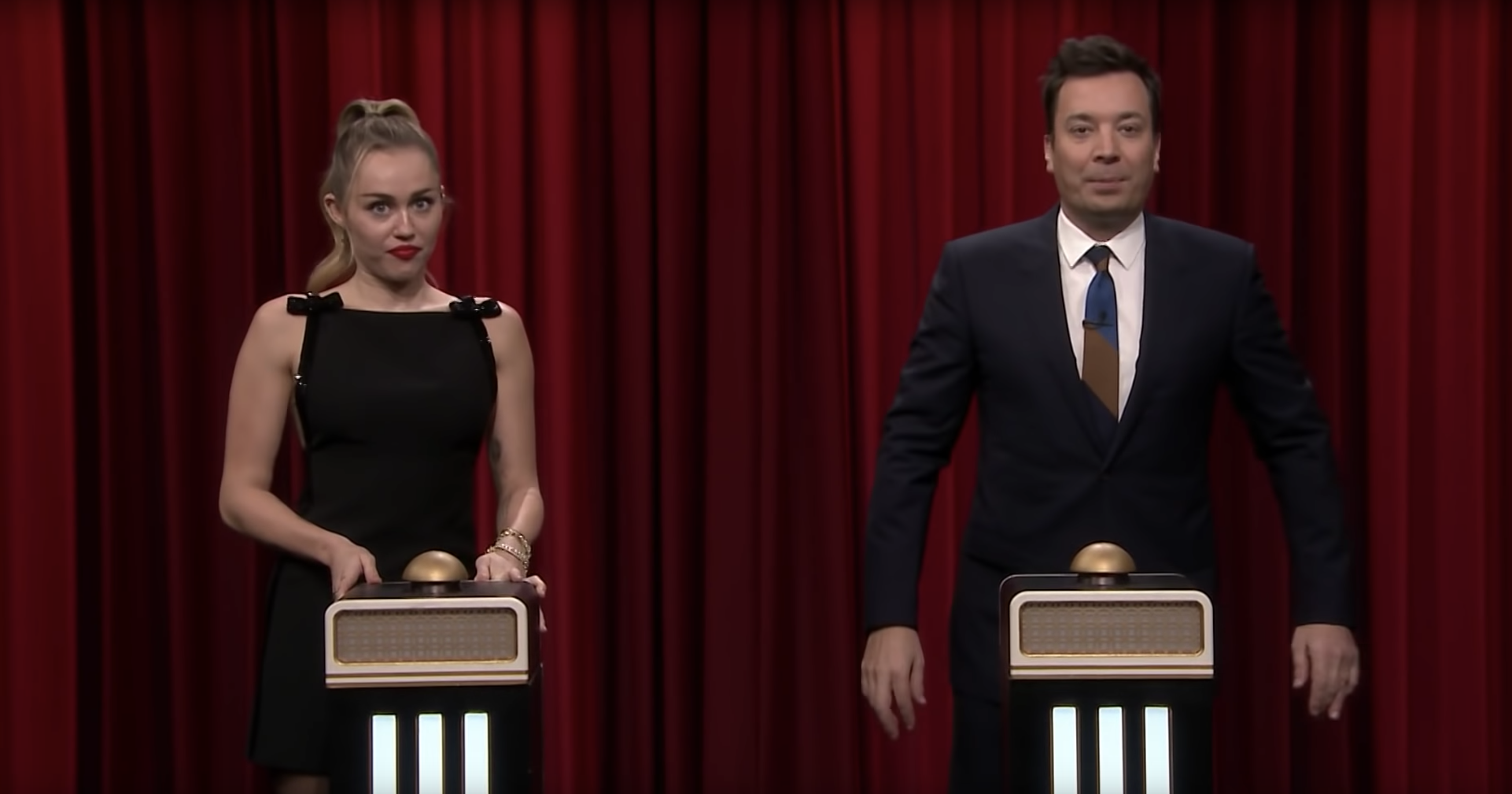Watch Miley Cyrus Play \'Name That Song\' With Jimmy Fallon, the Roots ...