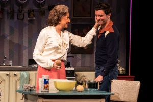 Mercedes Ruehl and Michael Urie in Harvey Fierstein's Torch Song.