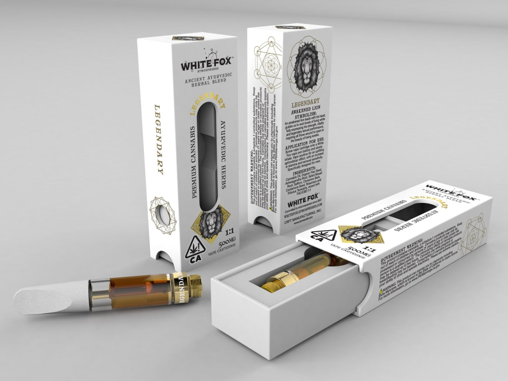 "When developing their first line of oil pens, White Fox decided to go in a rather, uh, sexy direction. The brand — which started with cannabis tinctures in 2007 — combined THC and CBD with herbs like saffron, cardamum and valerian walichi root to produce some of the most complex flavors on the vape market. Though there are only three, each one has a purpose: one is an aphrodesiac for women, onefor men, and the last is made for sleep. And while we can't guarantee that they will increase ""stamina and sensual sensitivity,"" or ""enhance the lucid dream state,"" as the packaging promises, we can confidently say they will get you thoroughly yet comfortably stoned. (Available in California, $42-65)"