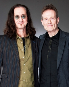 Geddy Lee and John Paul Jones, 2010.