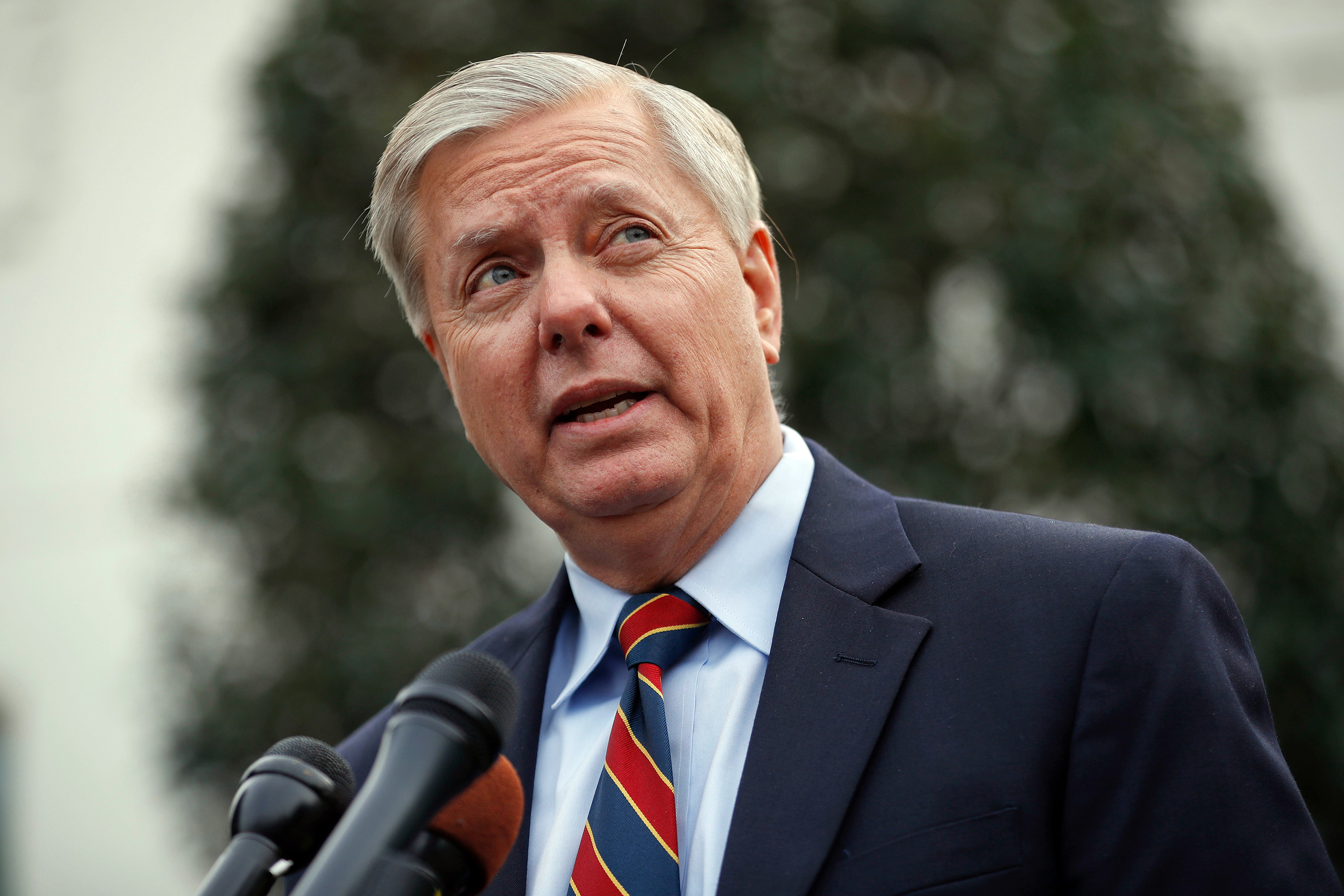 lindsey graham admits trump s border wall is a metaphor rolling stone