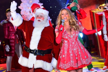 Mariah Carey Christmas Album Cover.New Christmas Albums Is Anyone Listening Rolling Stone