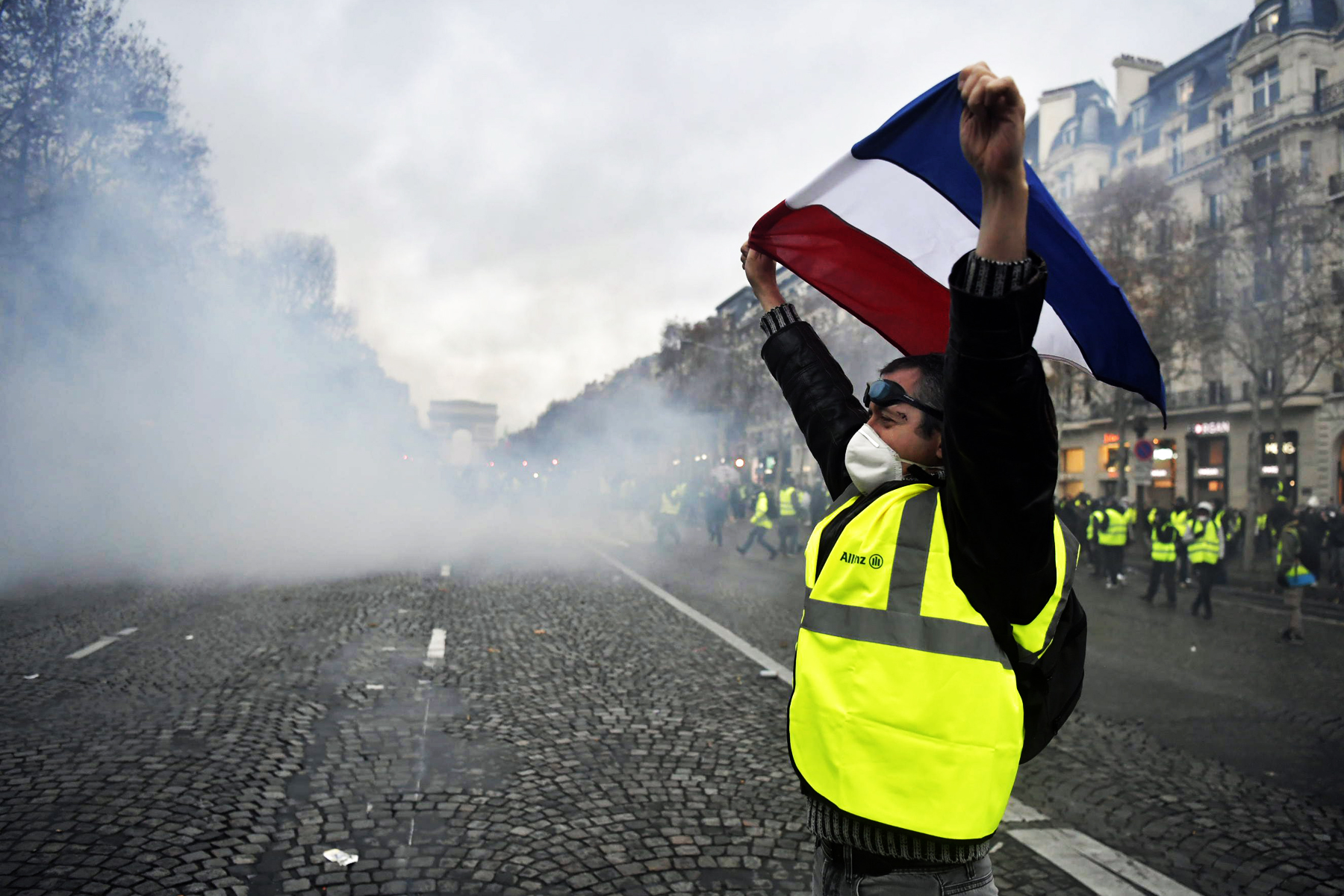The French Protests Do Not Fit a Tidy Narrative