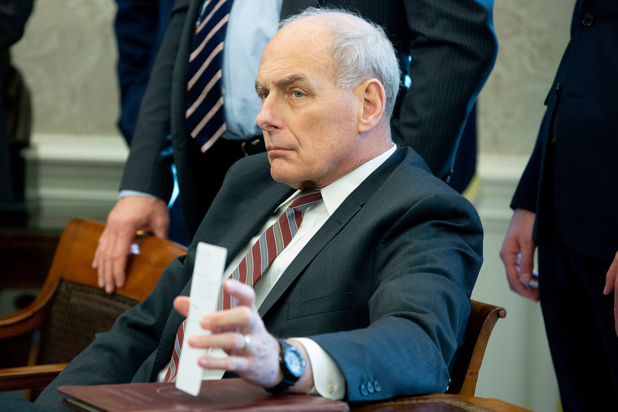 John Kelly Confirms He Was Lying All Along: The White House Is in Chaos