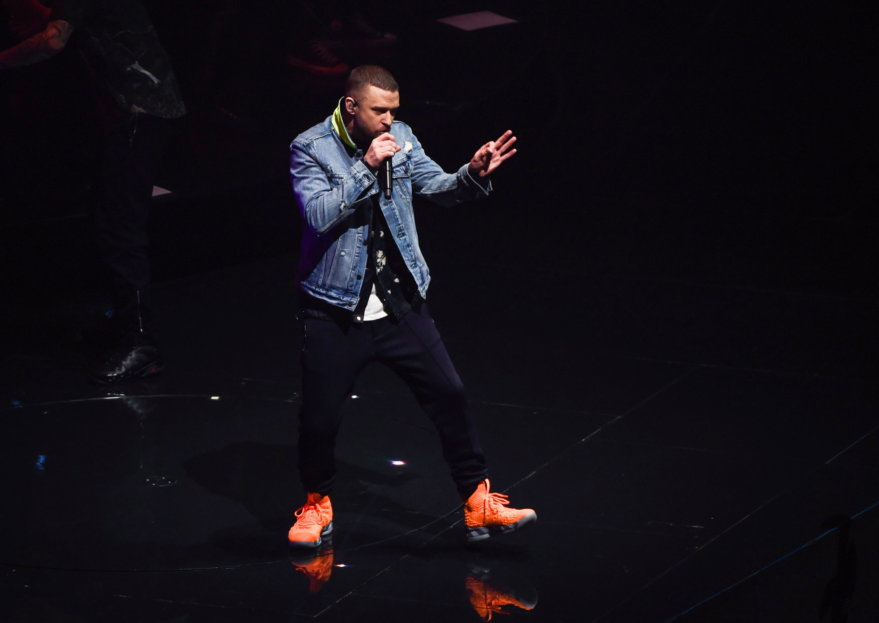 Singer Justin Timberlake performs at Madison Square Garden during the Man  of the Woods Tour 9898dc440