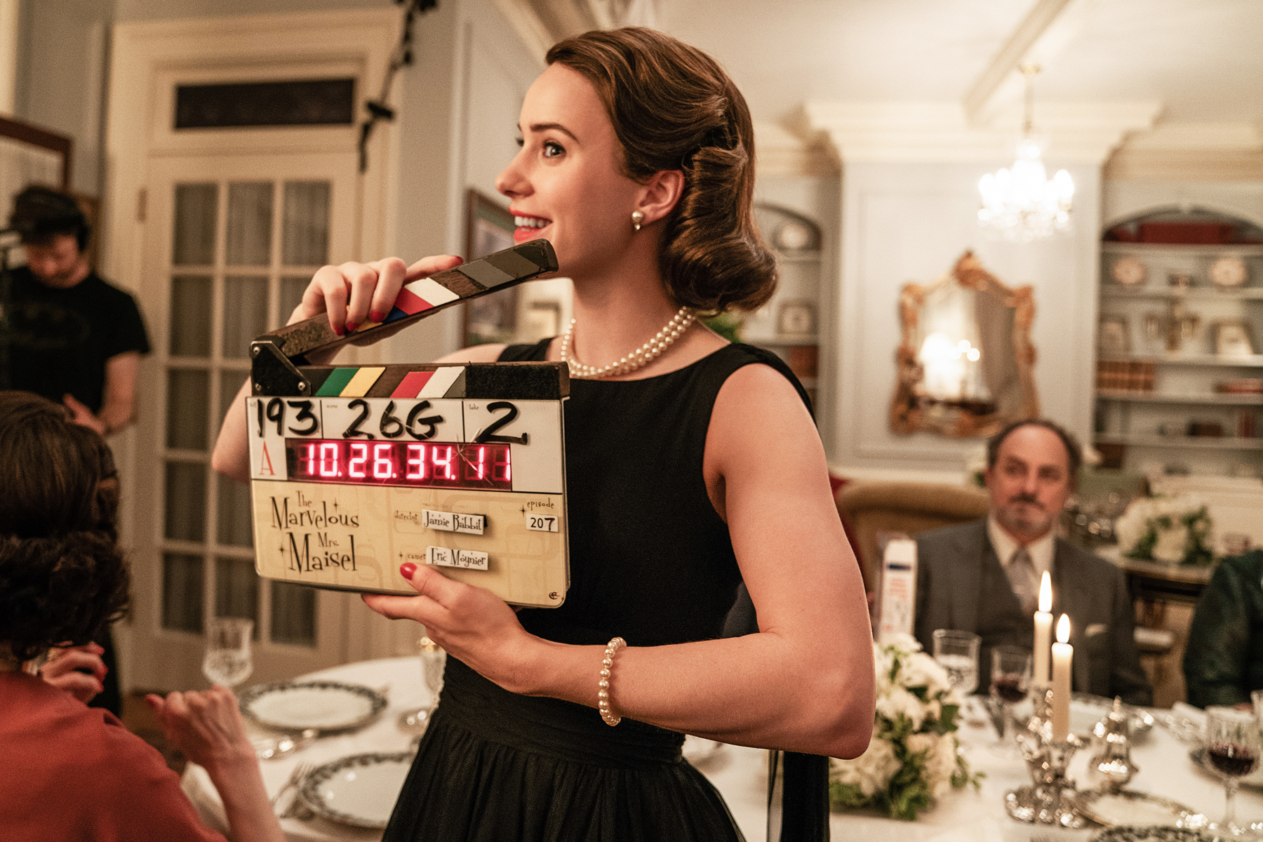 53e640b8aad Marvelous Mrs. Maisel   Rachel Brosnahan on Playing Midge – Rolling ...