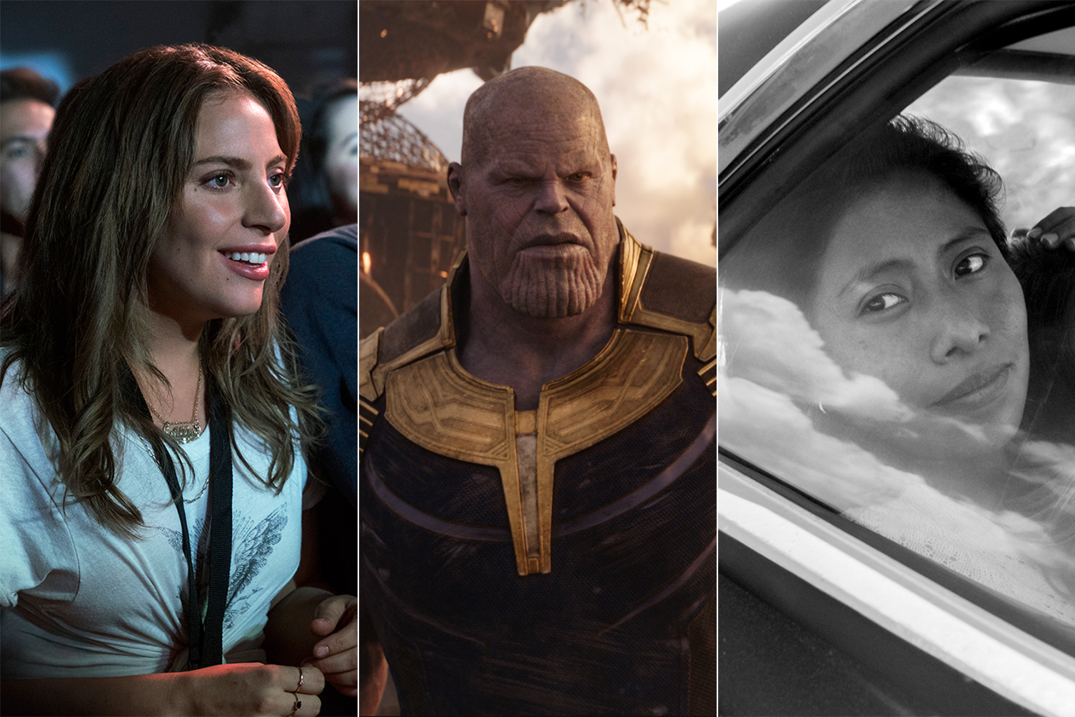 year in movies star is born avengers roma