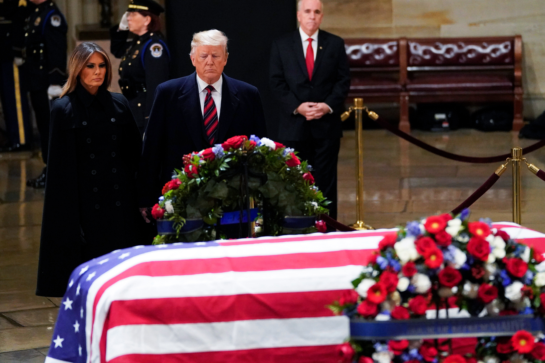 George Bush S Funeral Is Being Trump Proofed Rolling Stone