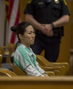 April 1, 2015 - Woodland, Calif, USA - Korean immigrant Nan-Hui Jo, 43, will now retain Attorney Dennis Riordan for her sentencing after being granted a continuance on Weds., April 1, 2015 in Woodland, Calif., at the Yolo County Superior Court. (Credit Image: © Renee C. Byer/Sacramento Bee/ZUMA Wire)