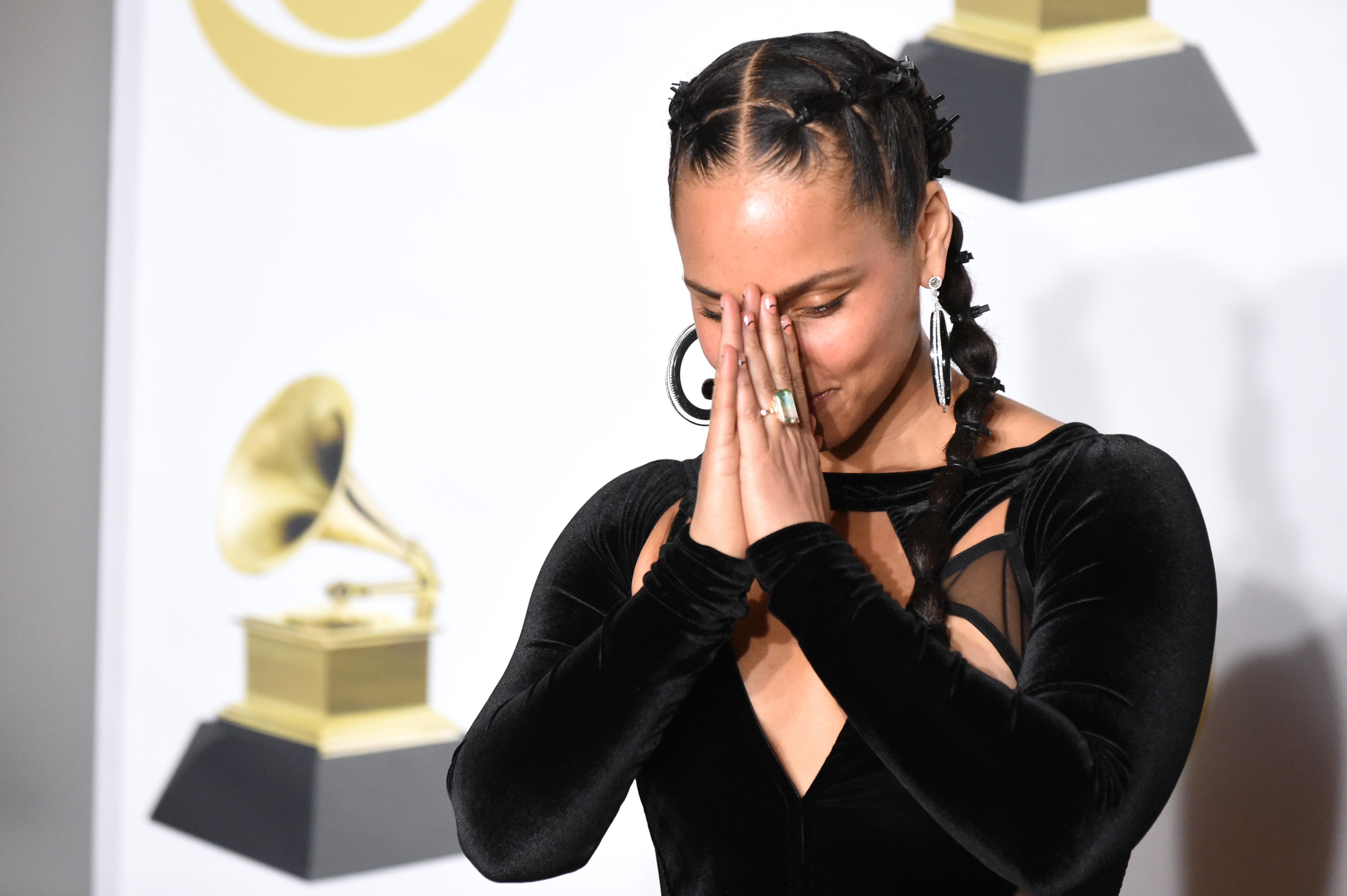 Image result for Alicia keys Grammy 2019