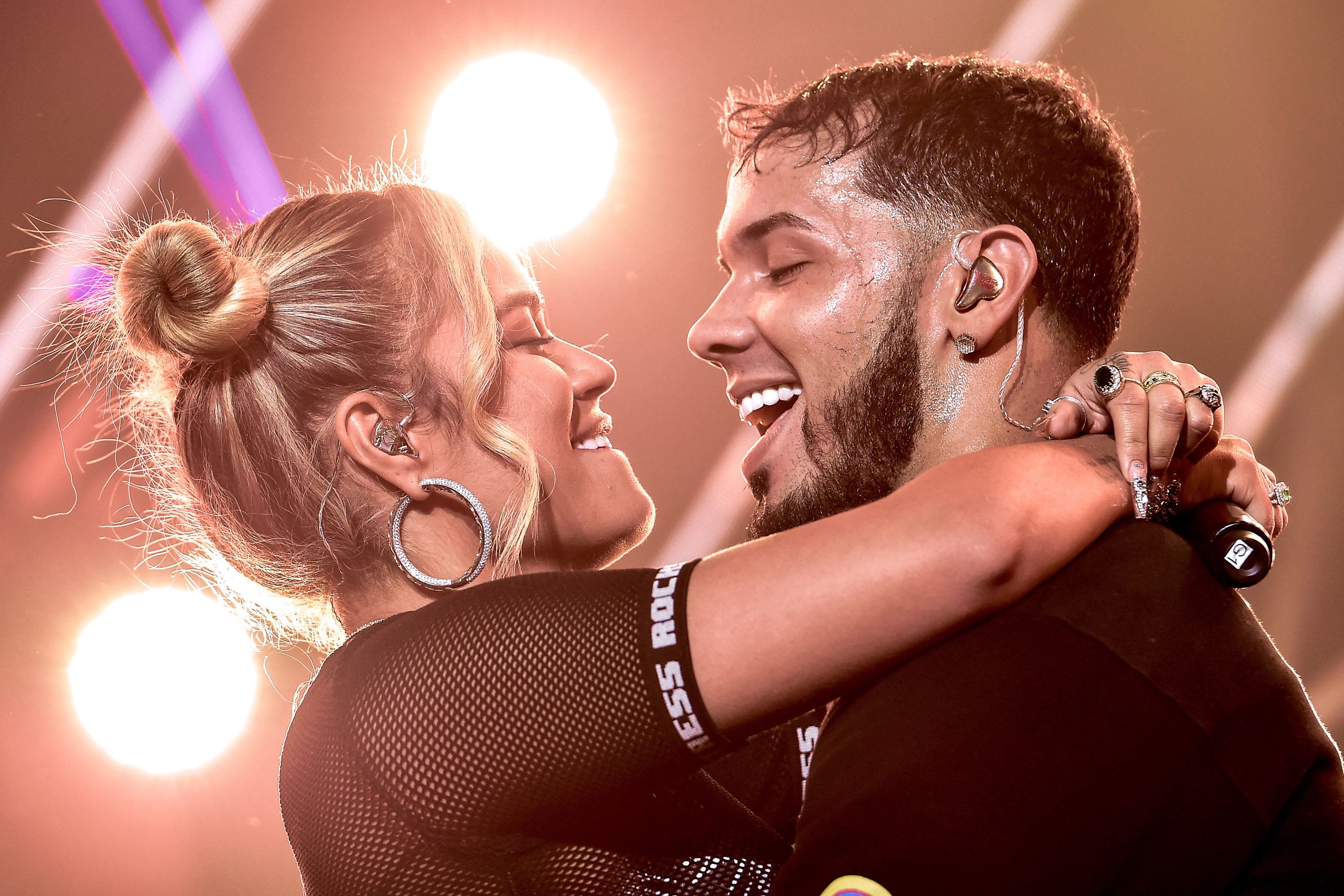 Anuel AA and Karol G's 'Secreto' Leaked Early, But It Blew Up Anyway