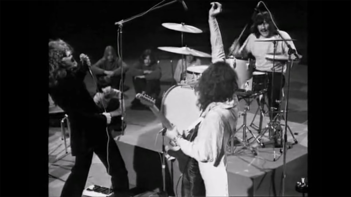 Flashback: Led Zeppelin Play to a Crowd of Seated Danish Teens