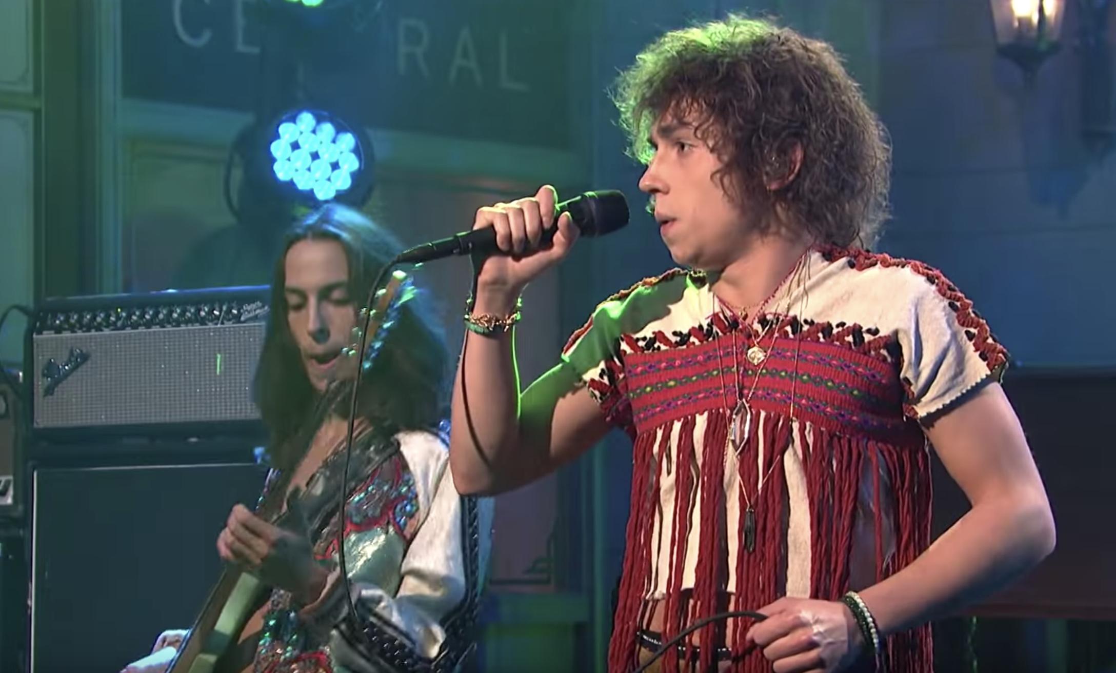 Watch Greta Van Fleet Perform Spirited 'Black Smoke Rising' in 'SNL' Debut