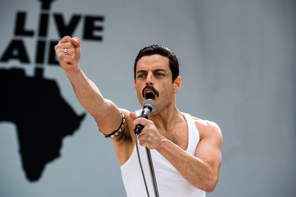 Rami Malek stars as Freddie Mercury in Twentieth Century Fox's BOHEMIAN RHAPSODY. Photo Credit: Alex Bailey.