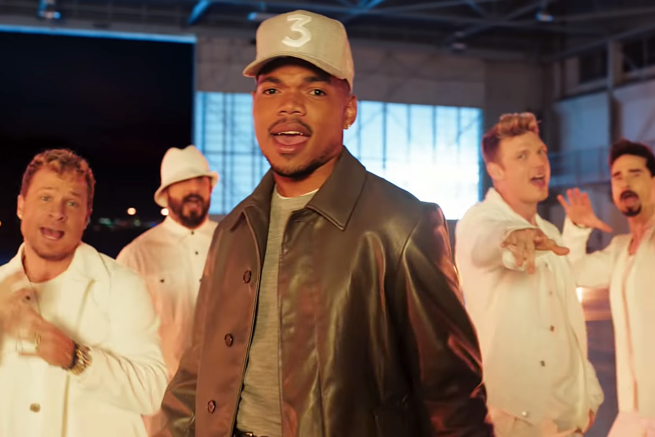 Chance the Rapper, Backstreet Boy's Commercial is