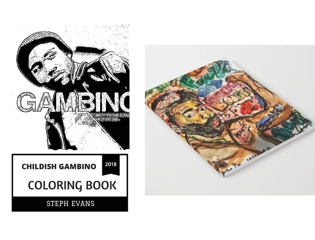 childish gambino coloring book