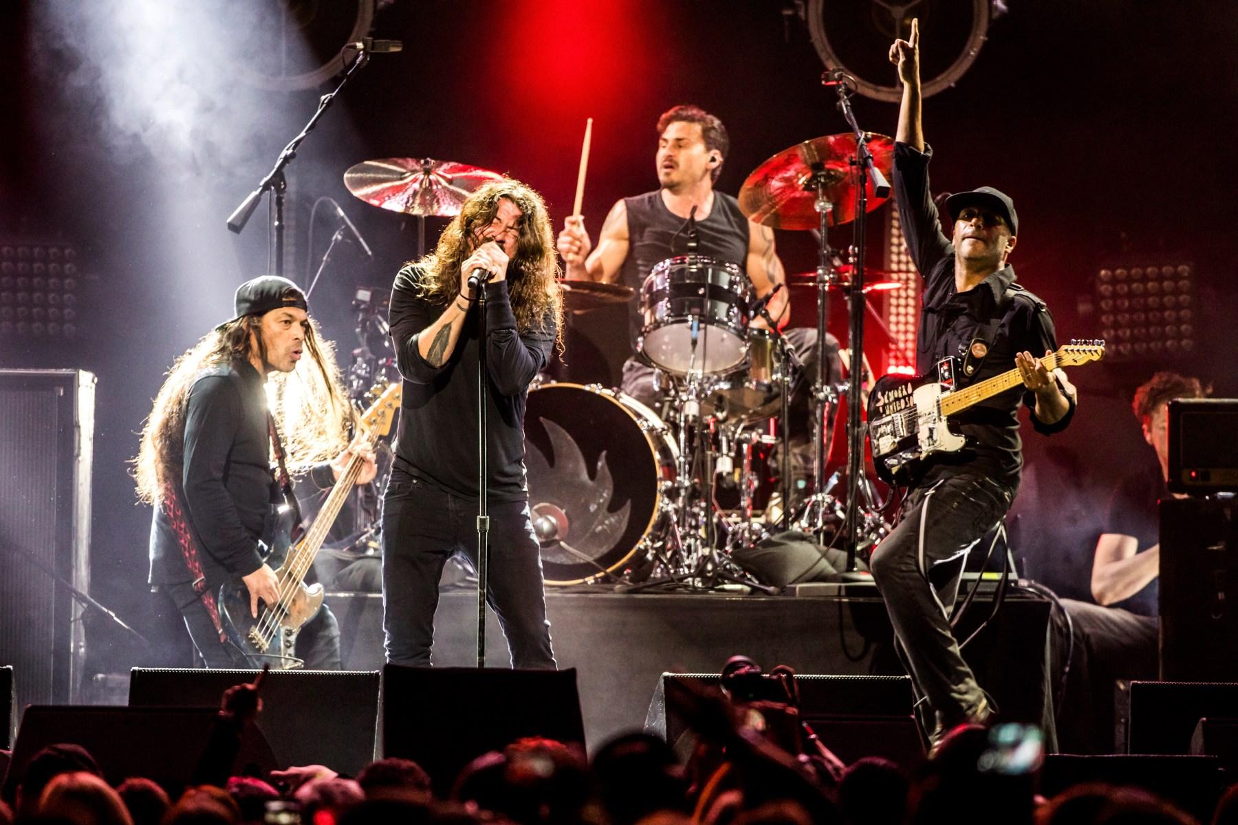 Metallica Foo Fighters Soundgarden Lead Chris Cornell Tribute Show Rolling Stone