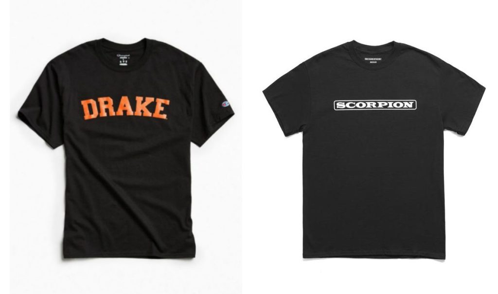 drake merch shirts