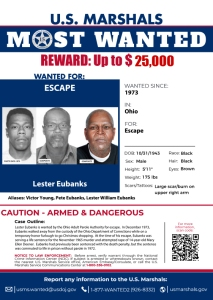 15 Most Wanted Fugitive: Lester Eubanks