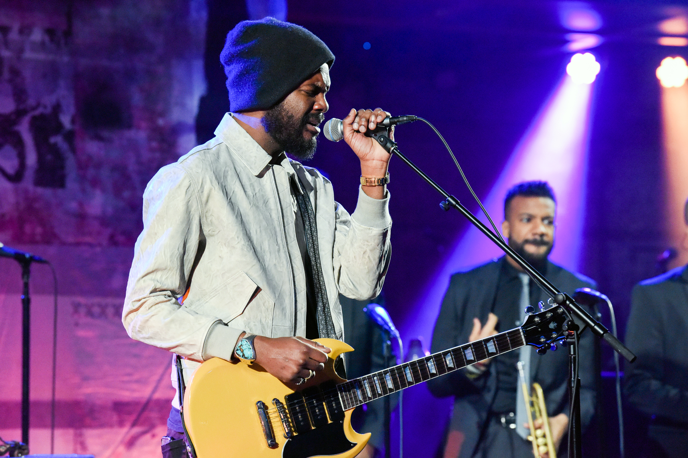 Watch Gary Clark Jr  Play New Song 'This Land' on 'Colbert