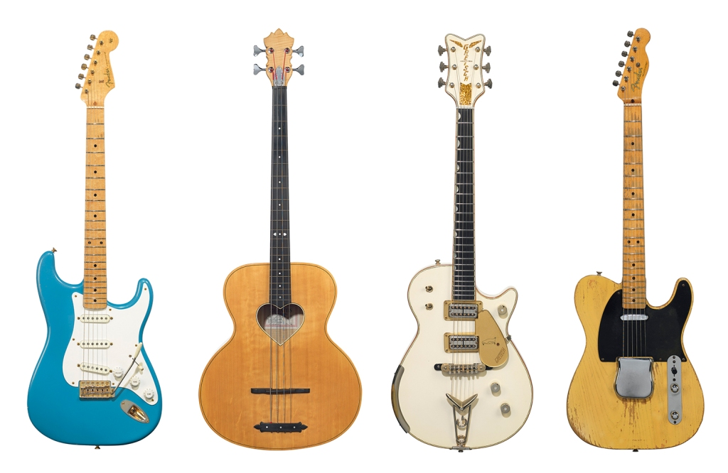 gilmour guitars