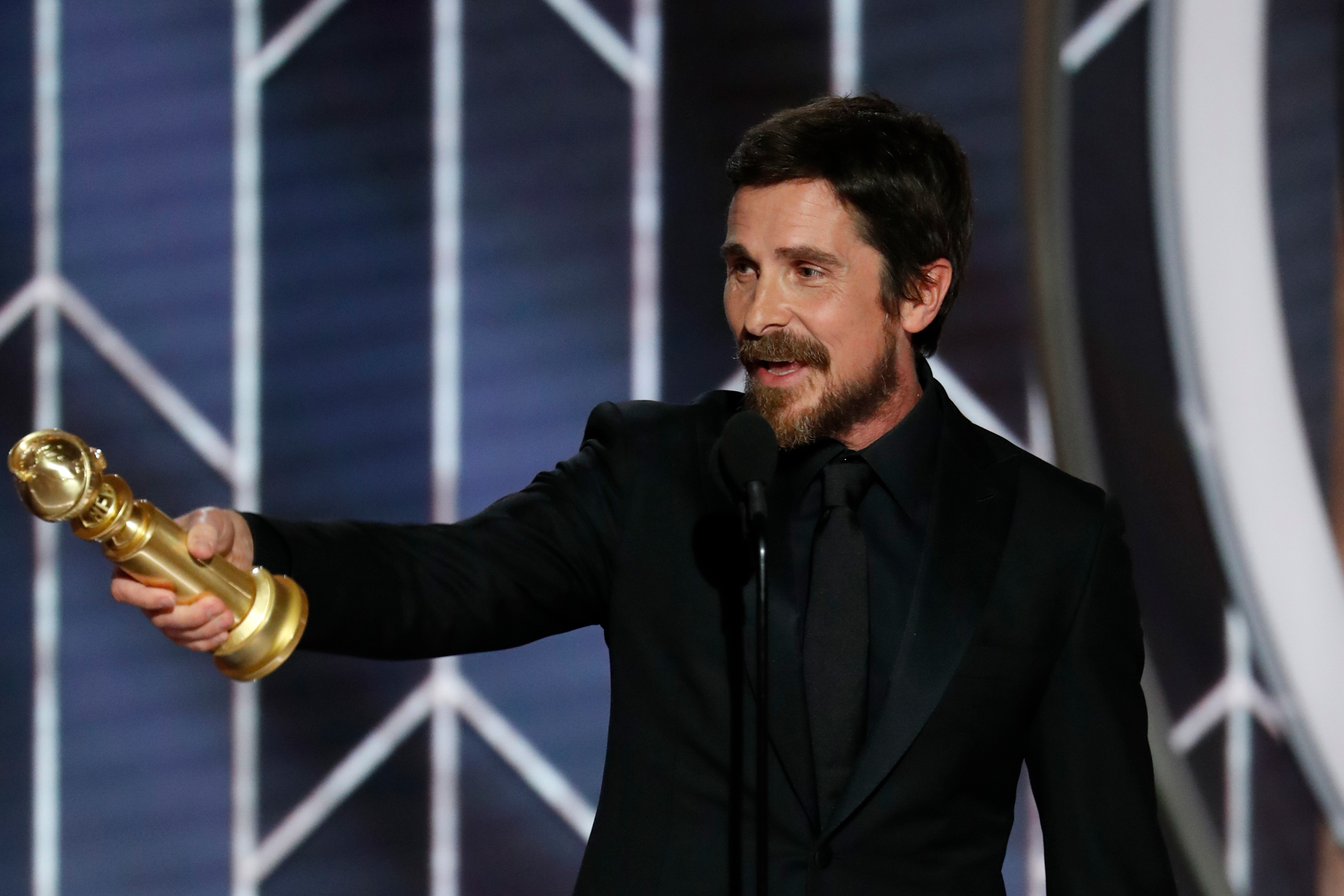 Church of Satan Praises Christian Bale Thanking Satan at Golden Globes