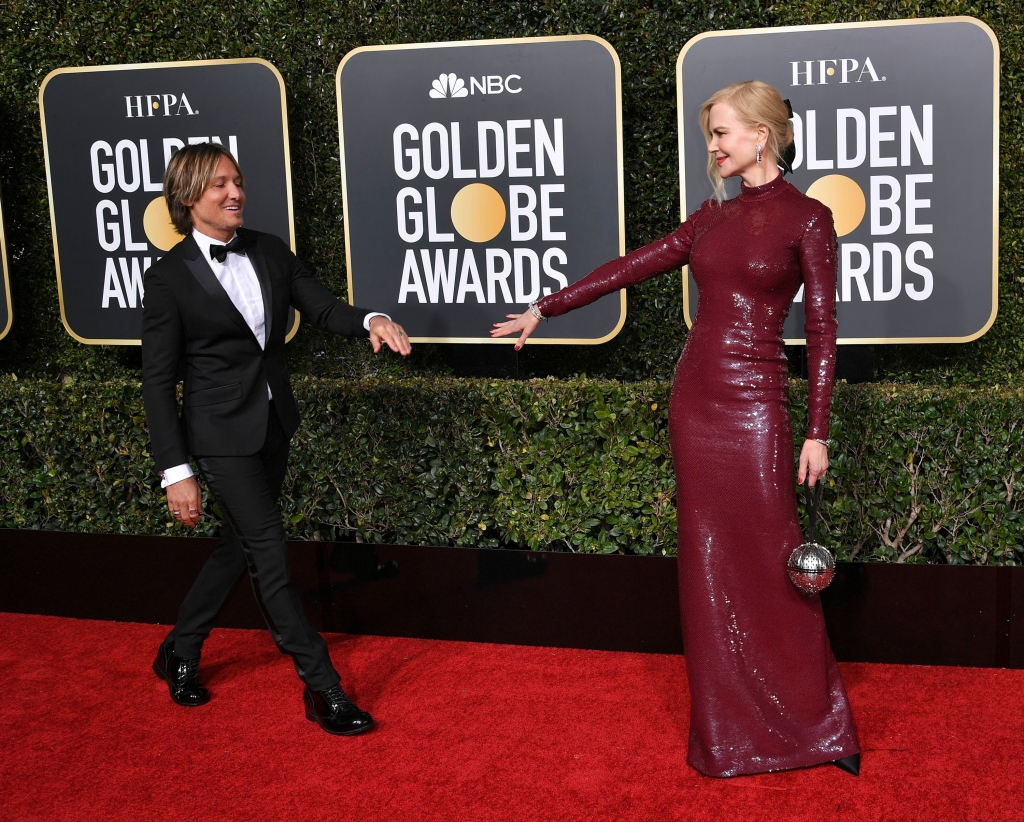 Keith Urban and Nicole Kidman at 76th Annual Golden Globe Awards, Arrivals, Los Angeles, USA – 06 Jan 2019