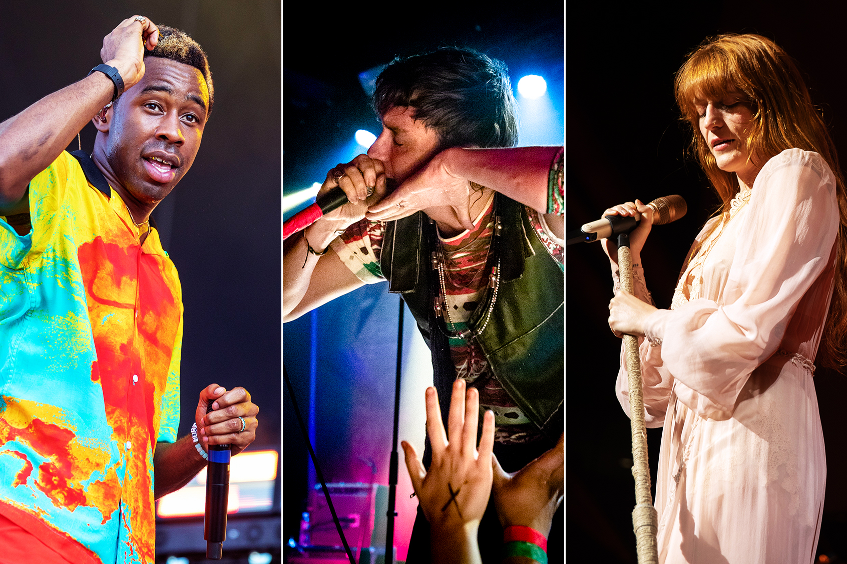 2019 Governors Ball: The Strokes, Florence and the Machine to
