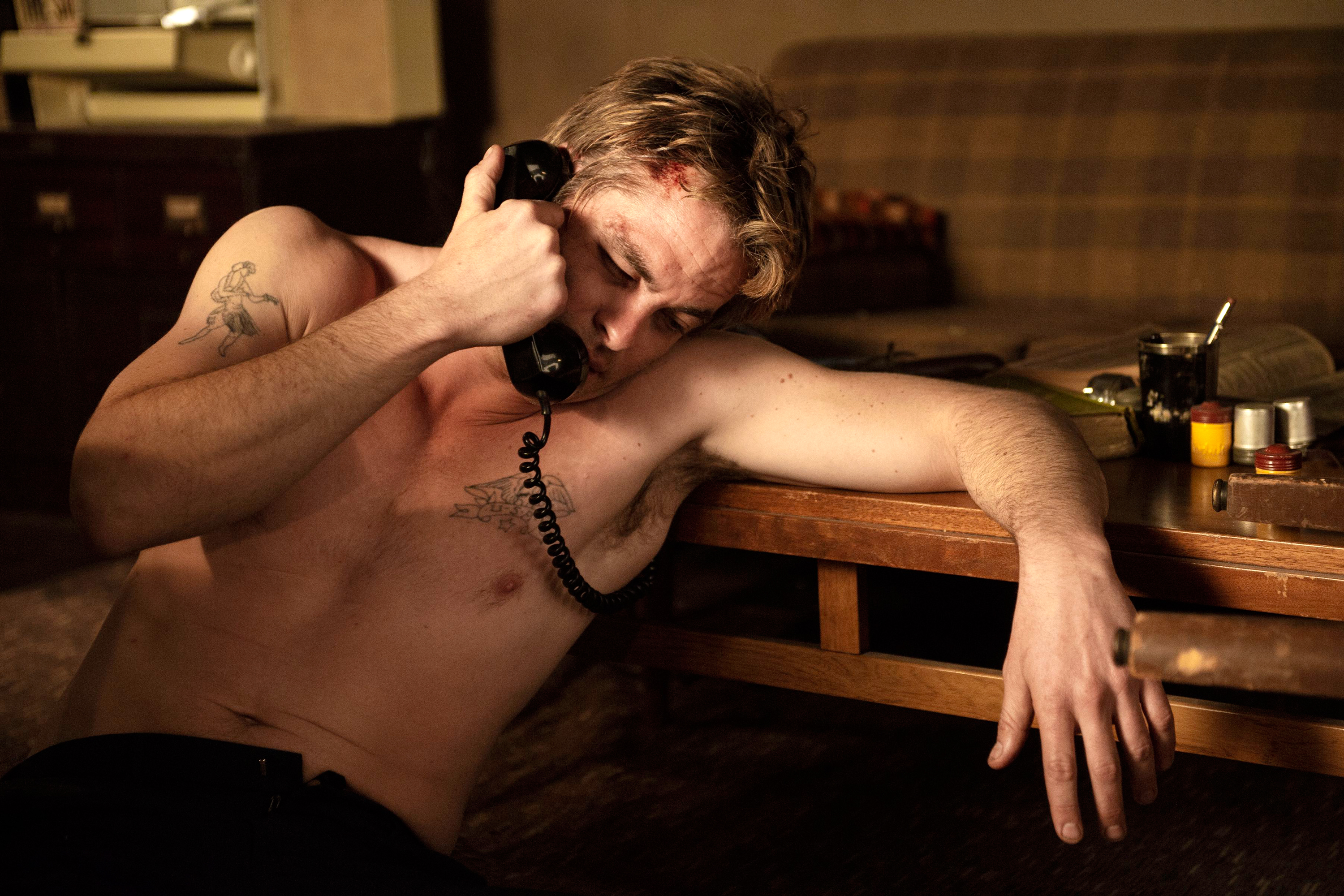Chris Pine in 'I Am The Night.'