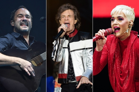 Rolling Stones, Katy Perry, Dave Matthews Band Tapped for 50th New Orleans Jazz Fest