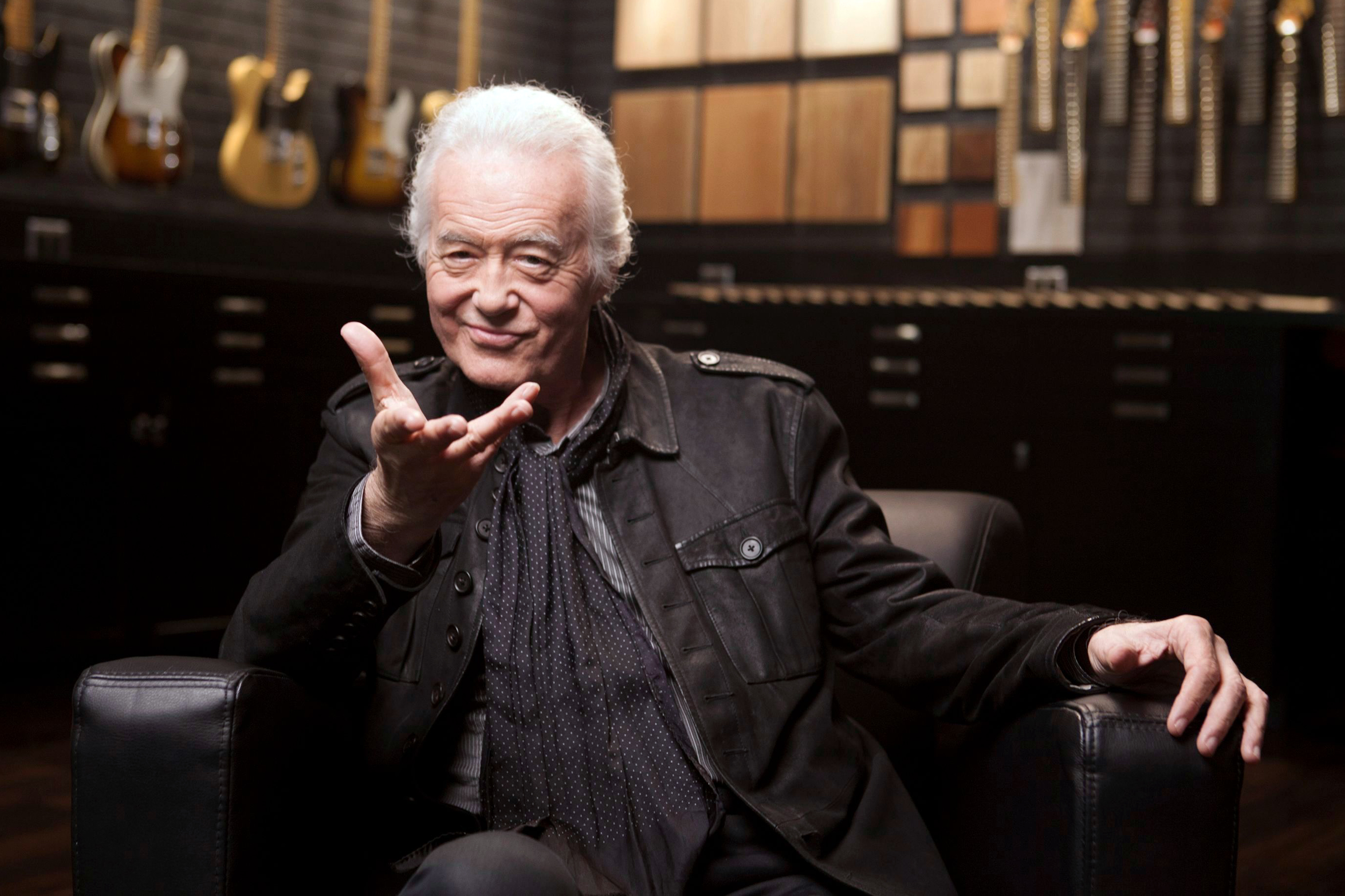 See Jimmy Page Explain How He 'Cloned' His 'Led Zeppelin' Guitar