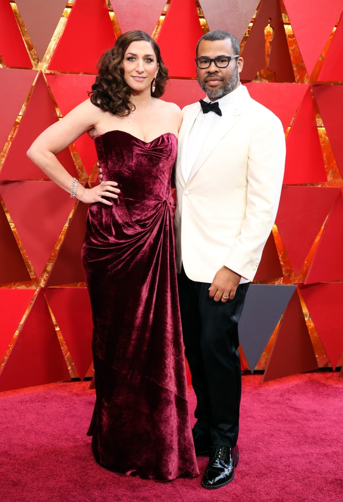 Chelsea Peretti and Jordan Peele90th Annual Academy Awards, Arrivals, Los Angeles, USA - 04 Mar 2018