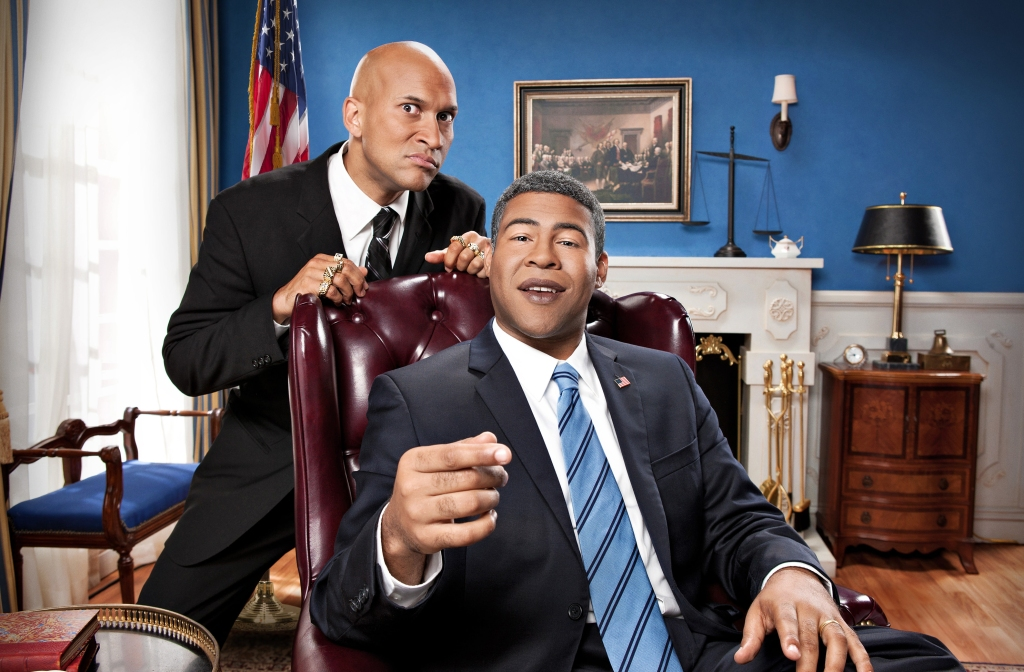 "(l-r) Keegan-Michael Key and Jordan PeeleSeason Two of ""Key & Peele"" premieres September 26 photo credit: Ian White/Comedy Central"