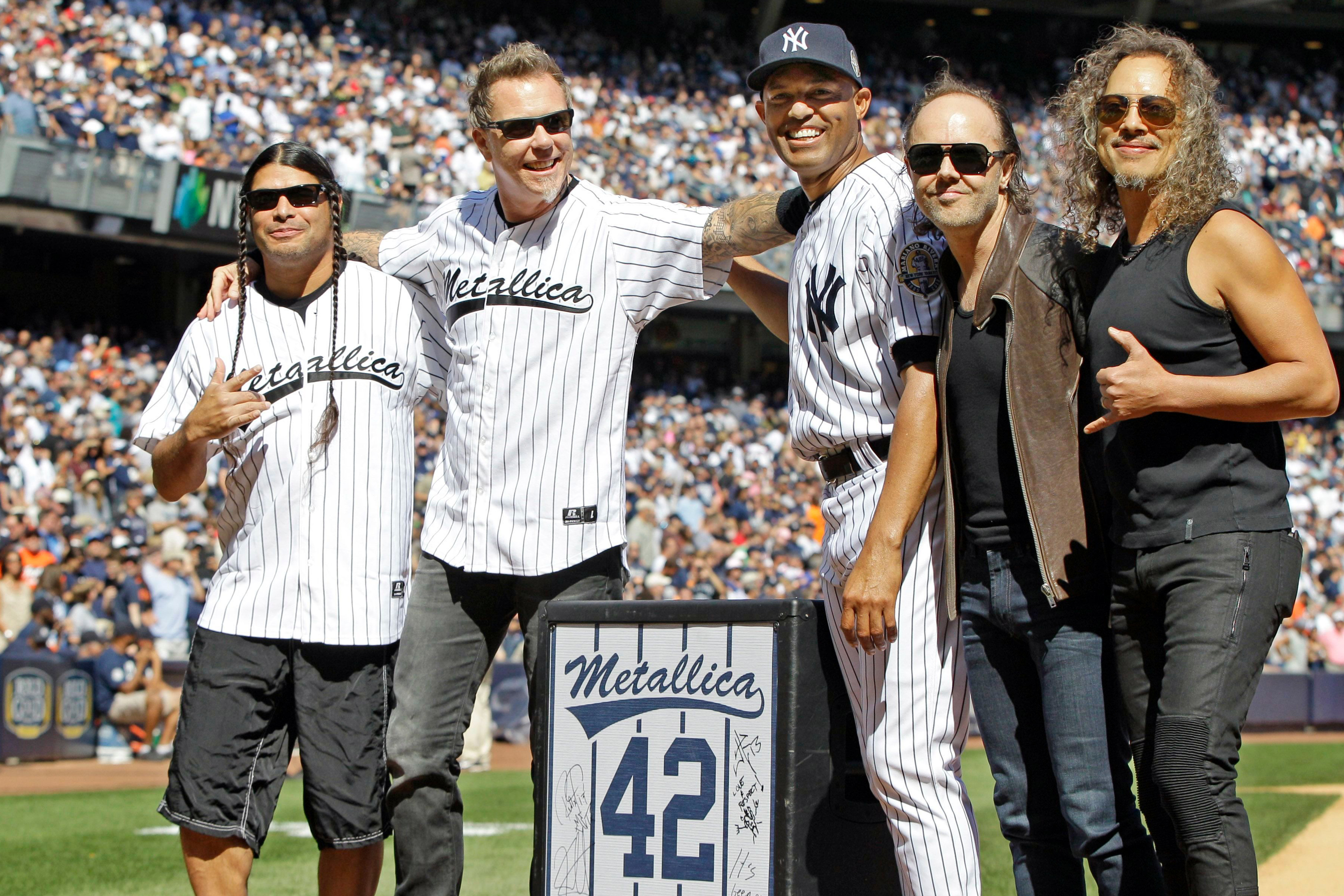 Mariano Rivera Loves the Guys in Metallica  Their Music? Not So Much