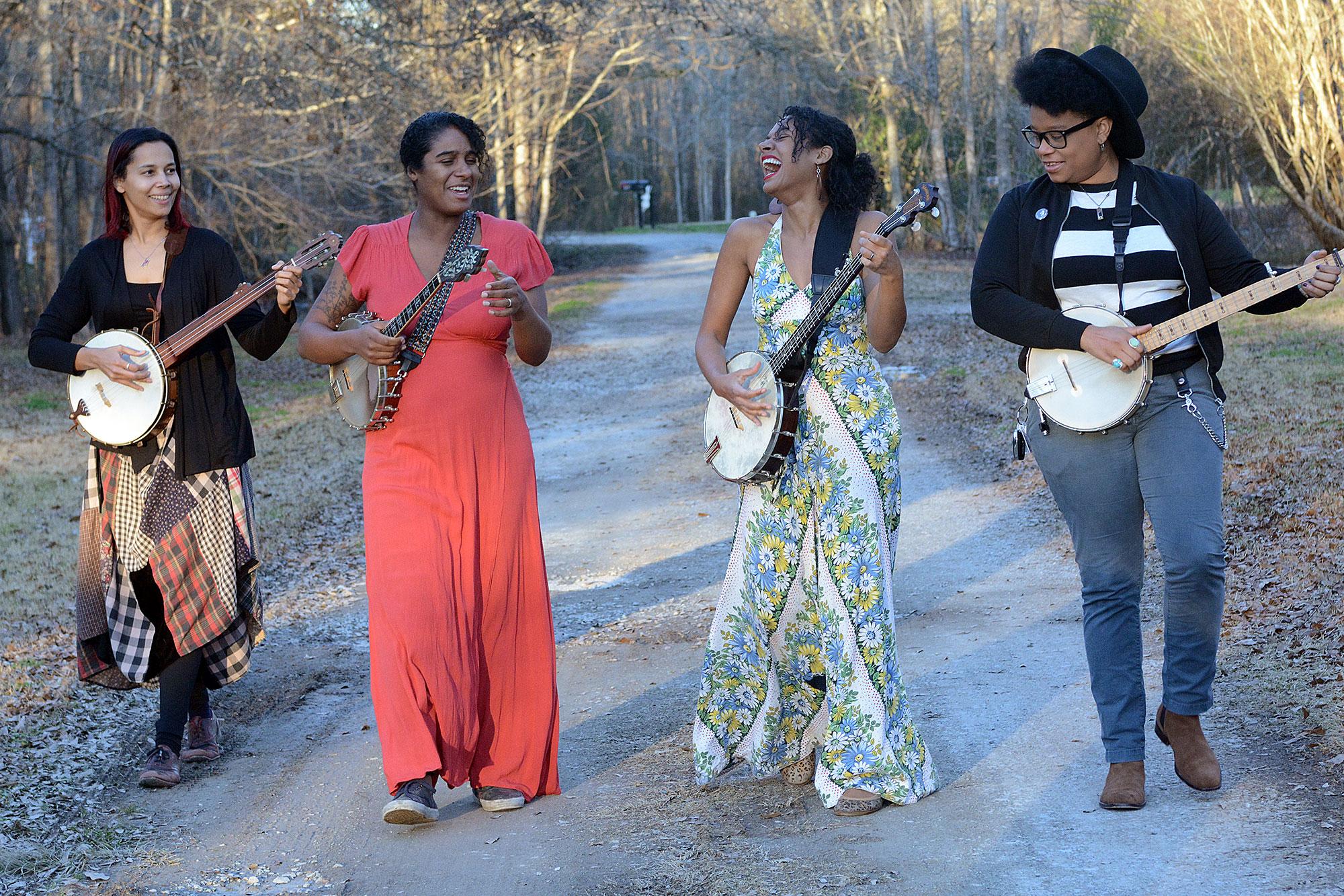 Folk Supergroup Our Native Daughters Release Simmering New Song 'Quasheba, Quasheba'