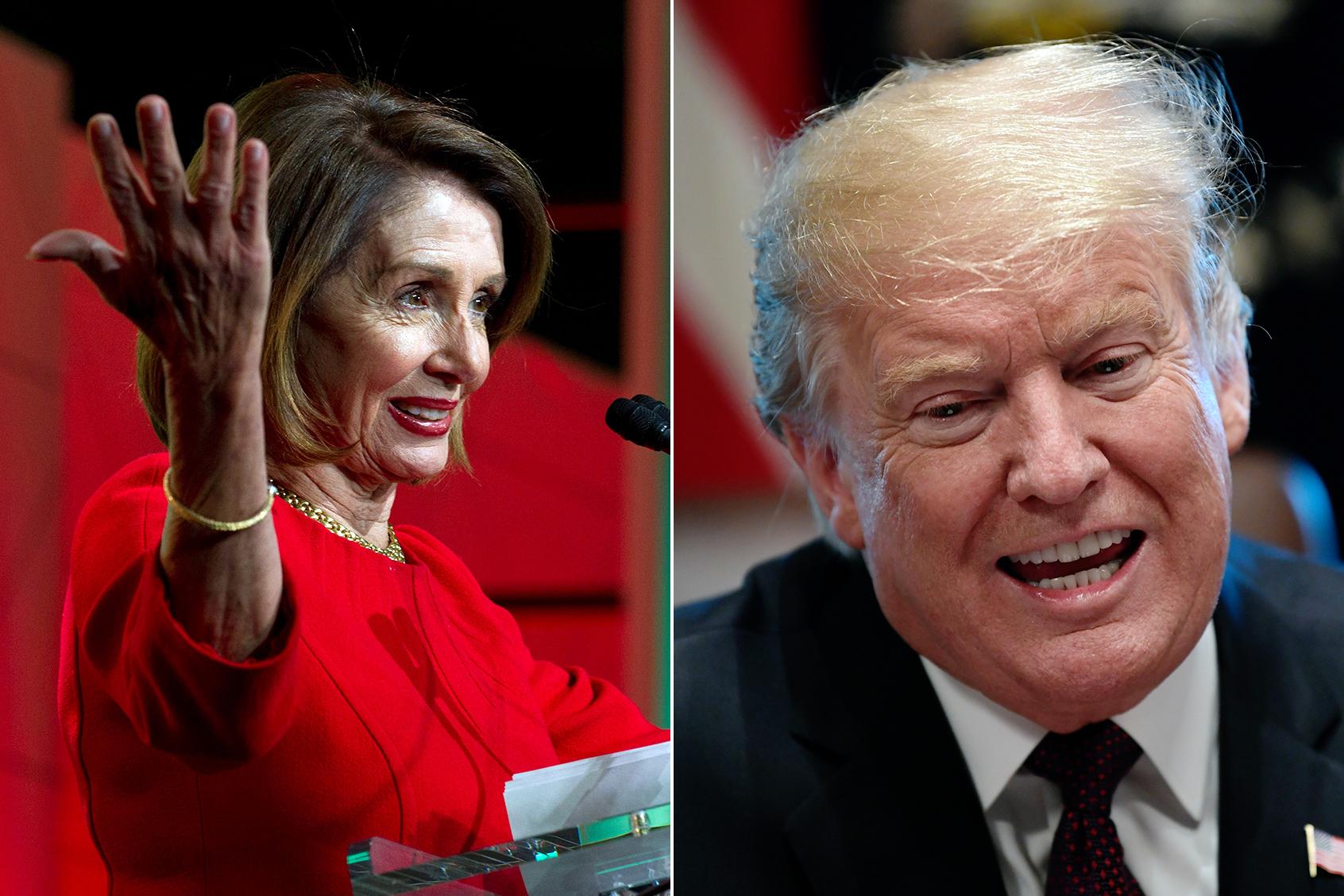 Still No Wall and Trump Takes the Fall