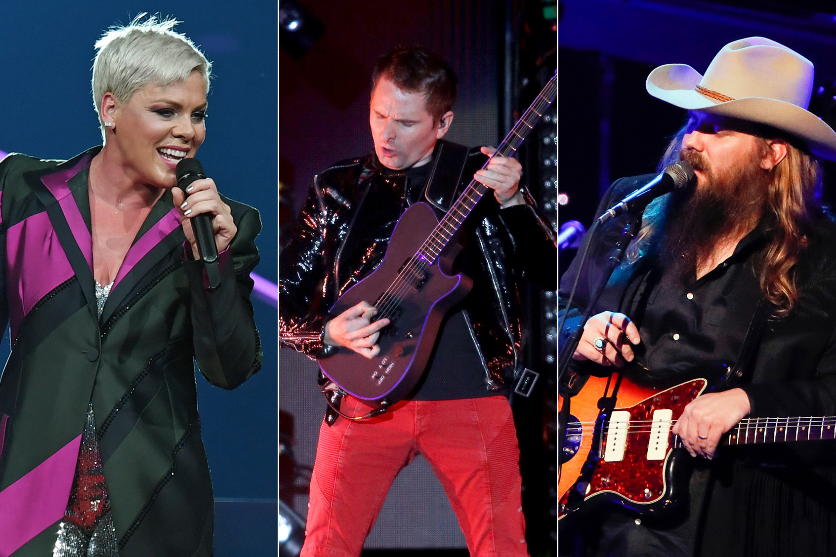 Pink, Muse, Chris Stapleton to Perform Intimate L.A. Shows During Grammy Week