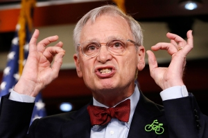 Rep. Earl Blumenauer, D-Ore., speaks about green infrastructure during a news conference, on Capitol Hill in WashingtonPelosi, Washington, USA - 08 Feb 2018