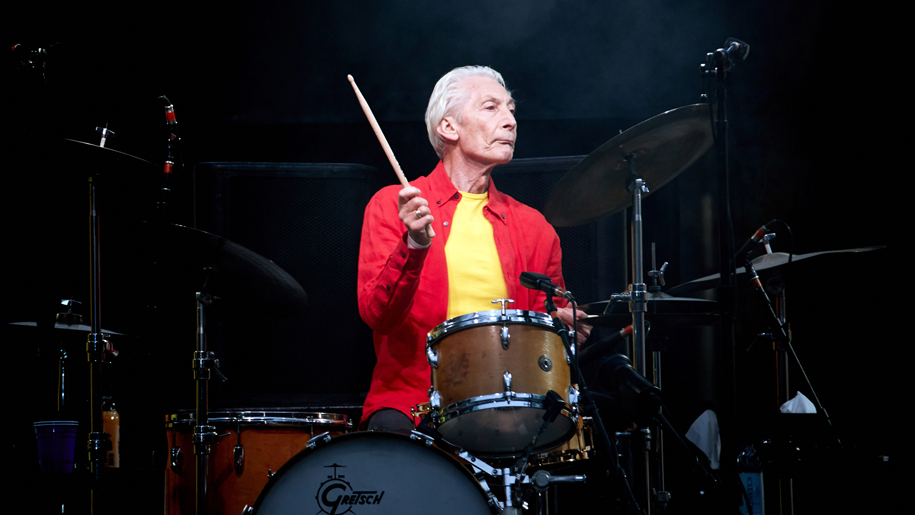 Rolling Stones' Charlie Watts Opens Up to Chad Smith in Rare Interview